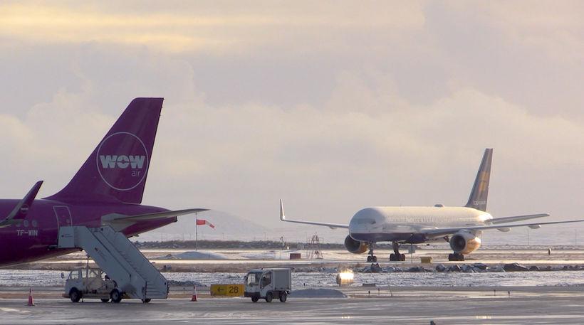 Samtals bjóða flugfélögin upp á flug til 56 áfangastaða.