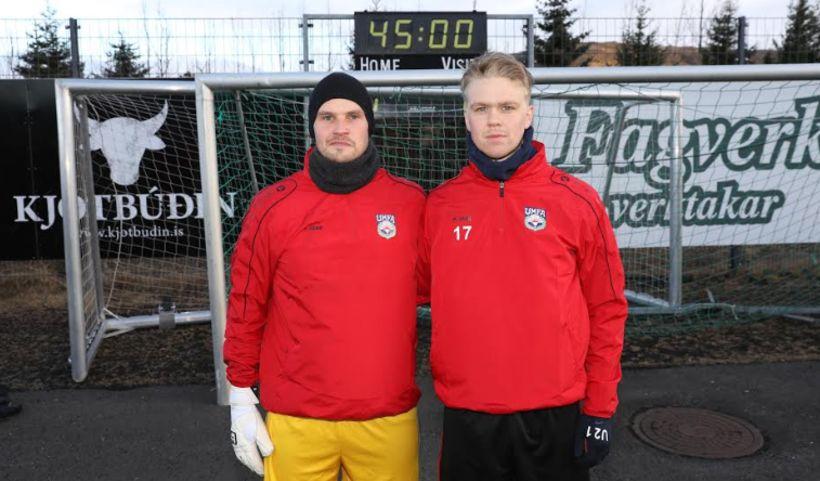 Trausti Sigurbjörnsson og Ragnar Már Lárusson.