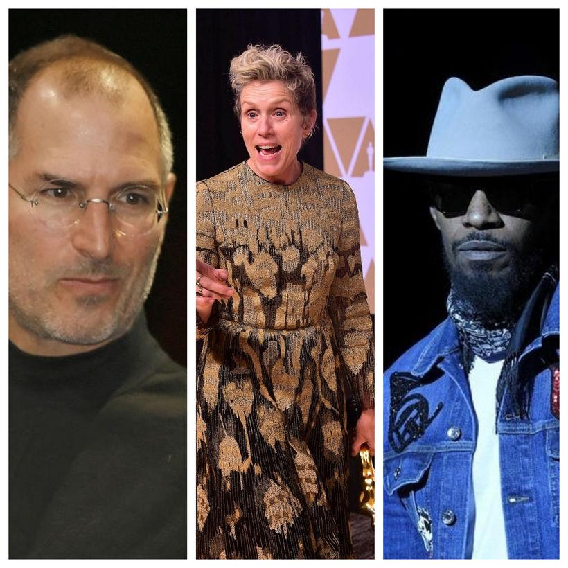 Steve Jobs, Frances McDormand og Jamie Foxx eiga ekki bara ...