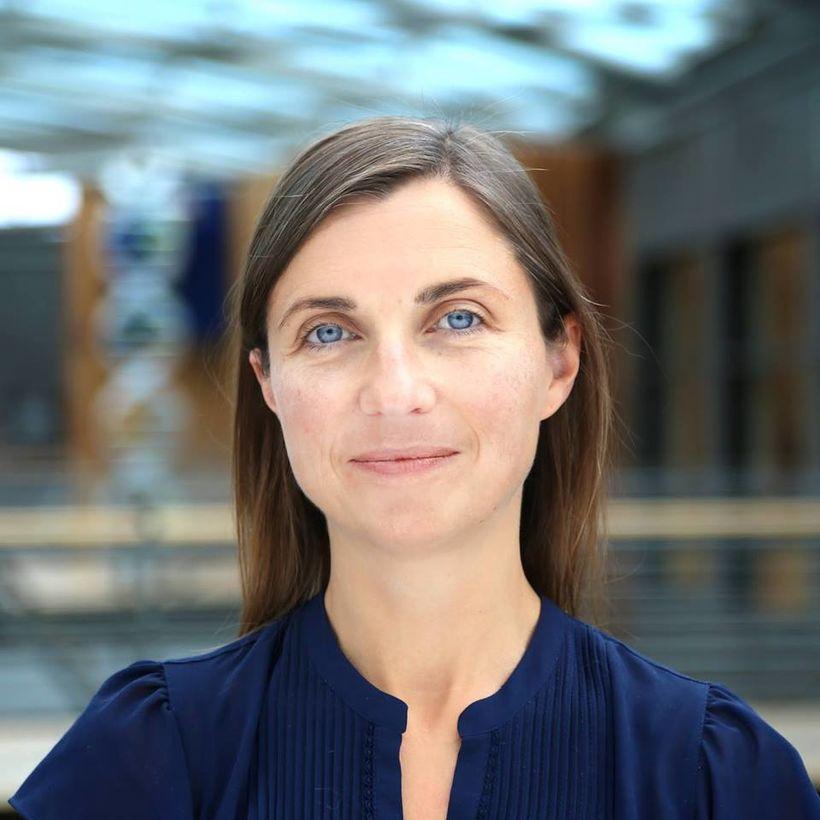 Kristrún Halla Helgadóttir, sagnfræðingur hjá Íslenskri erfðagreiningu.