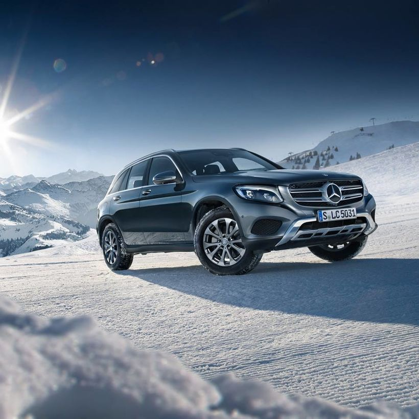 Mercedes-Benz GLC-jeppi.