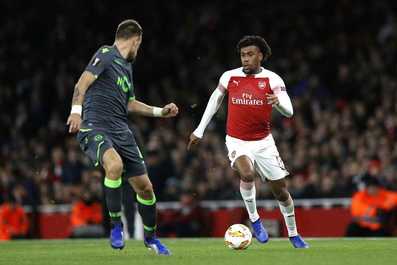 Arsenal er komið áfram í 32-liða úrslit.