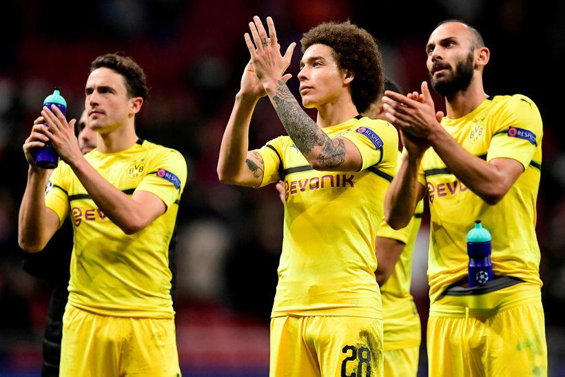 Borussia Dortmund í þýsku 1. deildinni á þessari leiktíð.