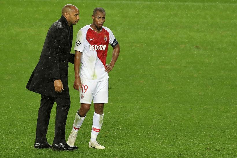 Thierry Henry var ráðinn knattspyrnustjóri Monaco í október.