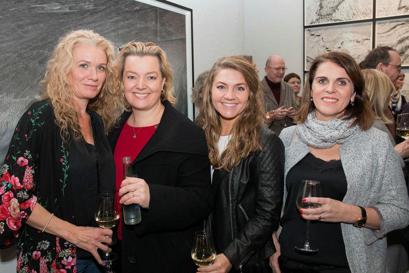 Birgitta Róbertsdóttir, Heiðrún Hauksdóttir, Trixie Blackburn og Guðný Turner.
