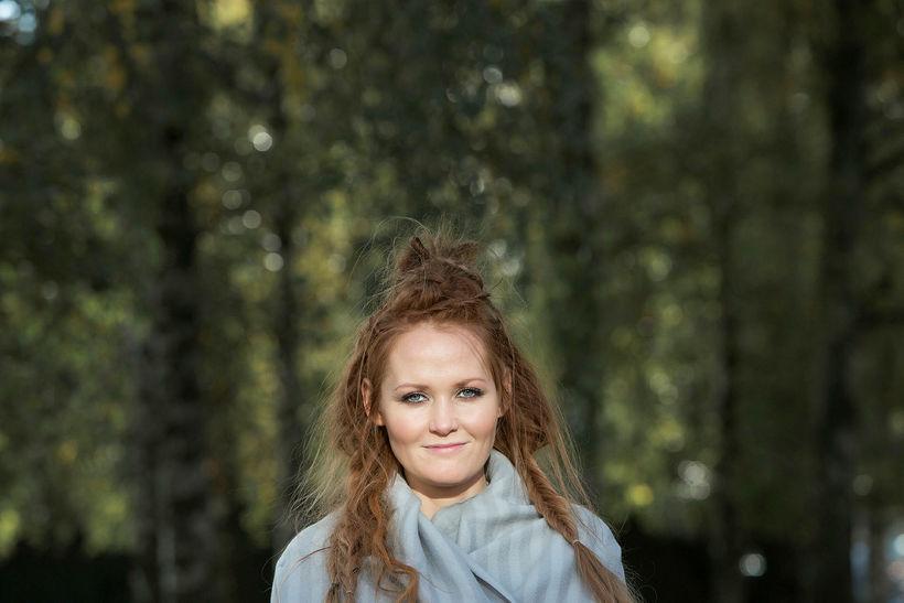Ágústa Eva Erlendsdóttir bjó í Noregi þegar hún var 11 ...