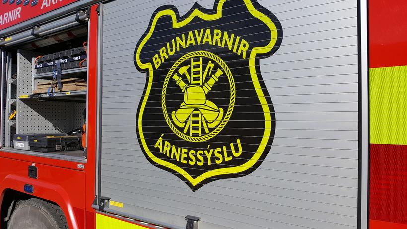 Brunavarnir Árnessýslu voru kallaðar til á þriðja tímanum í nótt ...