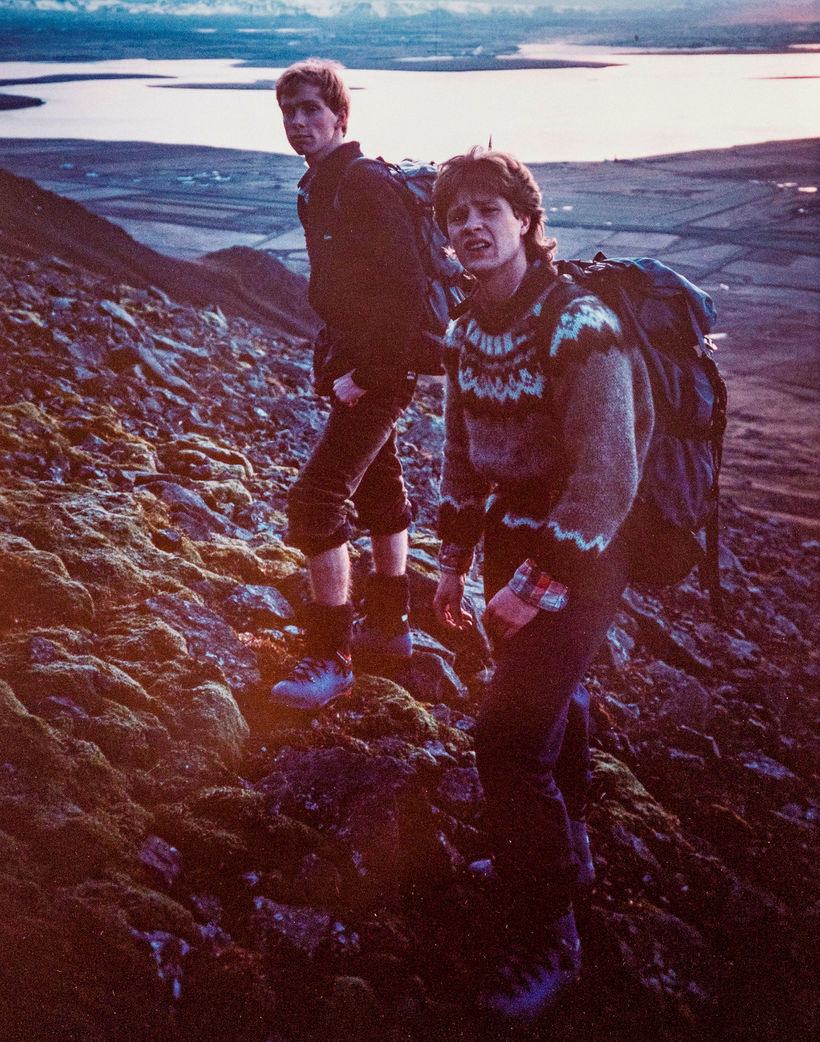 Kristinn and Þorsteinn began climbing Icelandic mountains in their teenage ...