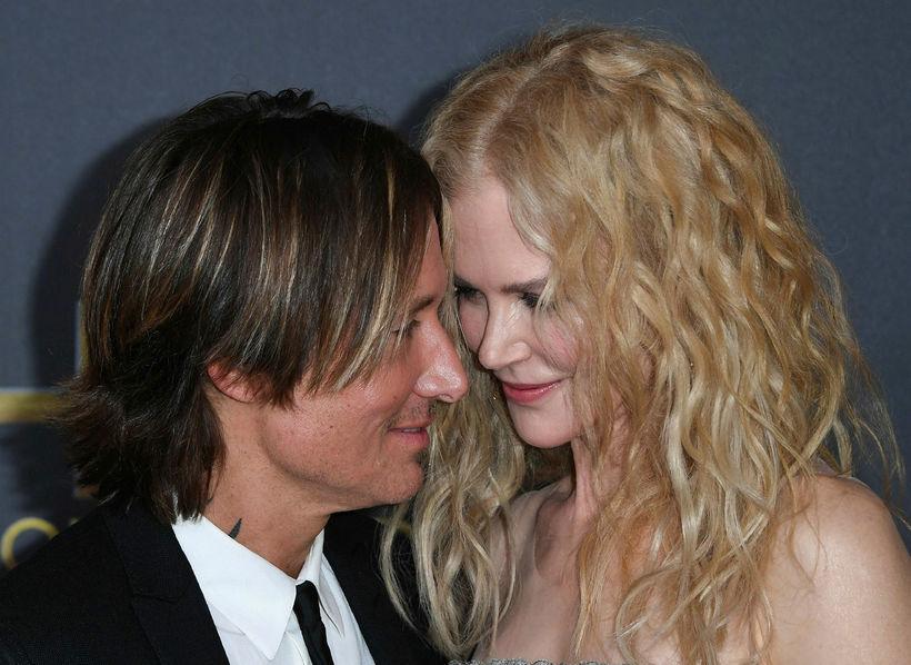 Keith Urban og Nicole Kidman sýna það með líkamanum að ...