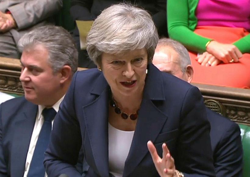 Theresa May, forsætisráðherra Bretlands, vill meina að útganga Breta sé ...