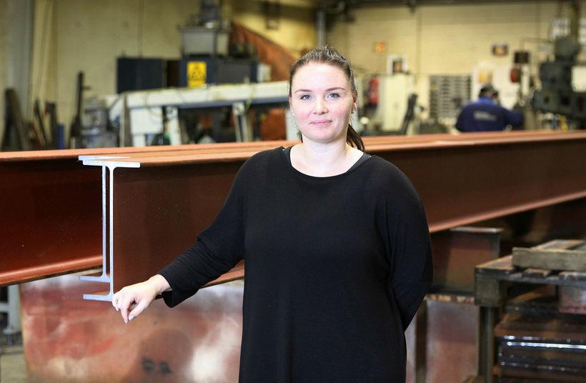 Margrét Ósk Jónasdóttir framkvæmdastjóri Vélsmiðju Suðurlands.
