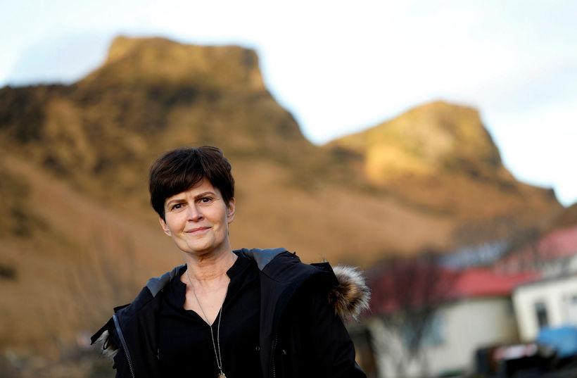 Þorbjörg Gísladóttir, head of the Mýrdalshreppur local council