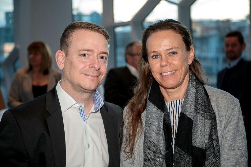 Ágúst Daði Guðmundsson og Fanney Kristjánsdóttir.
