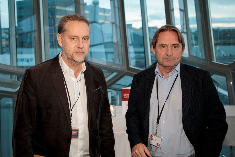 Friðrik Sverrisson og Matthías Valdimarsson frá 115 Security.