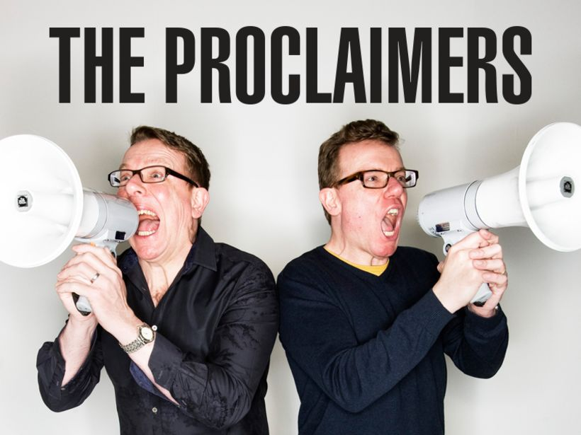 The Proclaimers mæta í Eldborg mánudagskvöldið 15. apríl á næsta ...