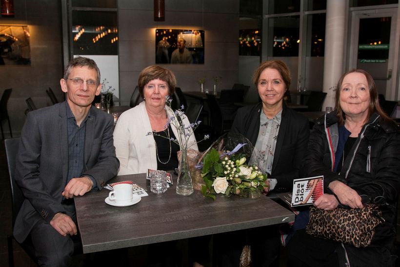 Gunnar Sveinbjörnsson, Þuríður Ingimundardóttir, Elísabet Grettisdóttir og María Gísladóttir.