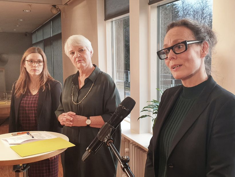 Berglind Rán Ólafsdóttir, framkvæmdastjóri Orku náttúrunnar, Helga Jónsdóttir, starfandi forstjóri ...