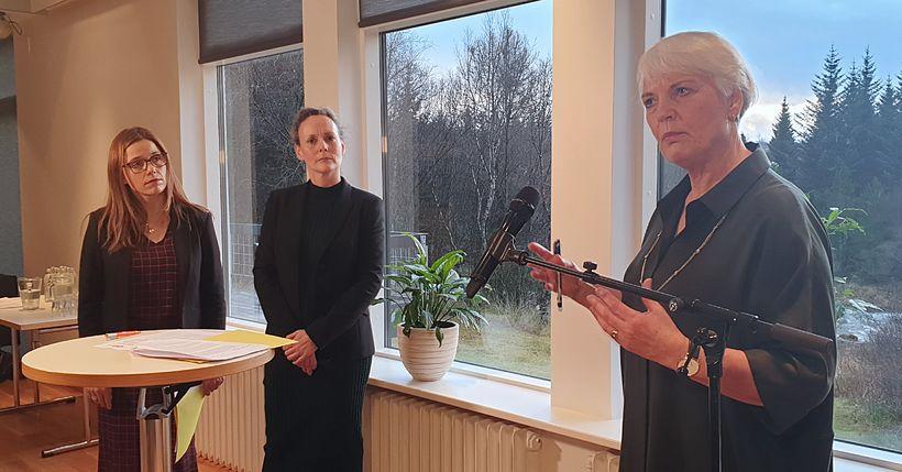 Helga Jónsdóttir, starfandi forstjóri OR, sagði Bjarna Bjarnason taka til ...