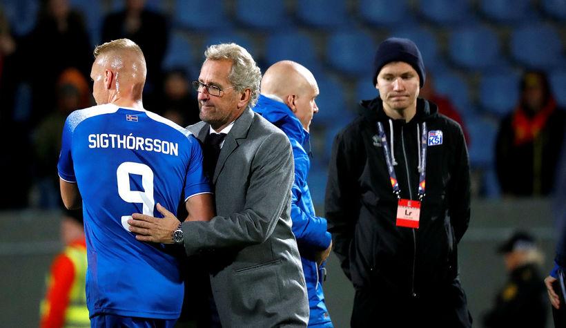 Kolbeinn Sigþórsson skoraði sitt fyrsta landsliðsmark síðan á EM 2016 ...