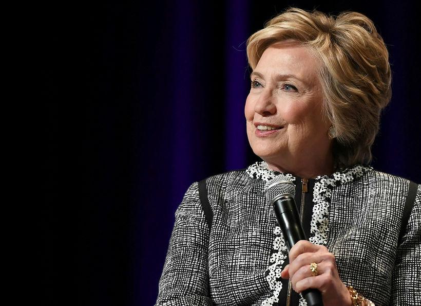 Fyrrverandi utanríkisráðherra Bandaríkjanna og forsetaframbjóðandi demókrata, Hillary Clinton.