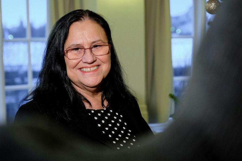 Inga Sæland, formaður Flokks fólksins.