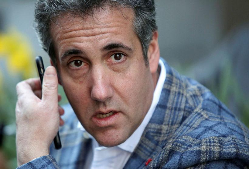 Michael Cohen, fyrrverandi lögmaður Donalds Trumps Bandaríkjaforseta.