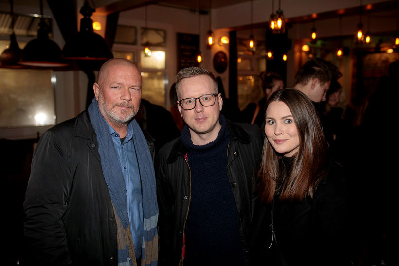 Ragnar Jónsson, Lúðvík Páll og Sandra Rós.