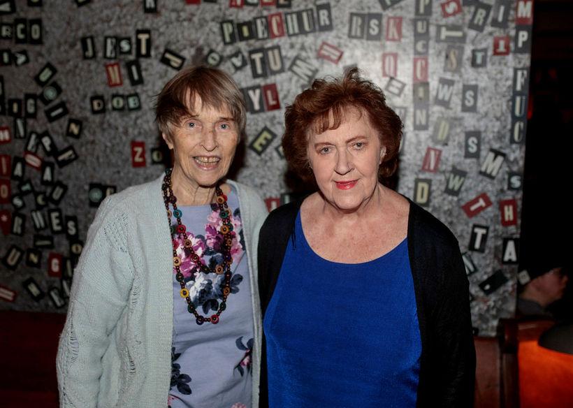 Guðrún Esther og María Guðmundsdóttir.