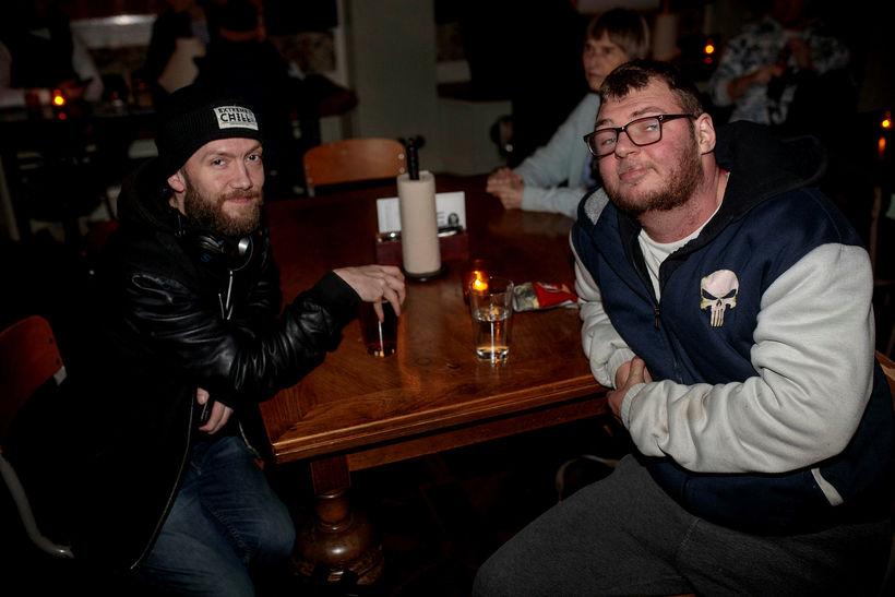 Bjarni Jónsson og Daníel Þór Marteinsson.