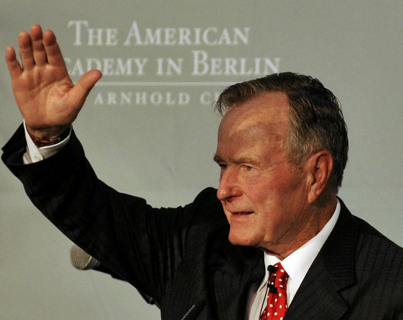 George H.W. Bush.
