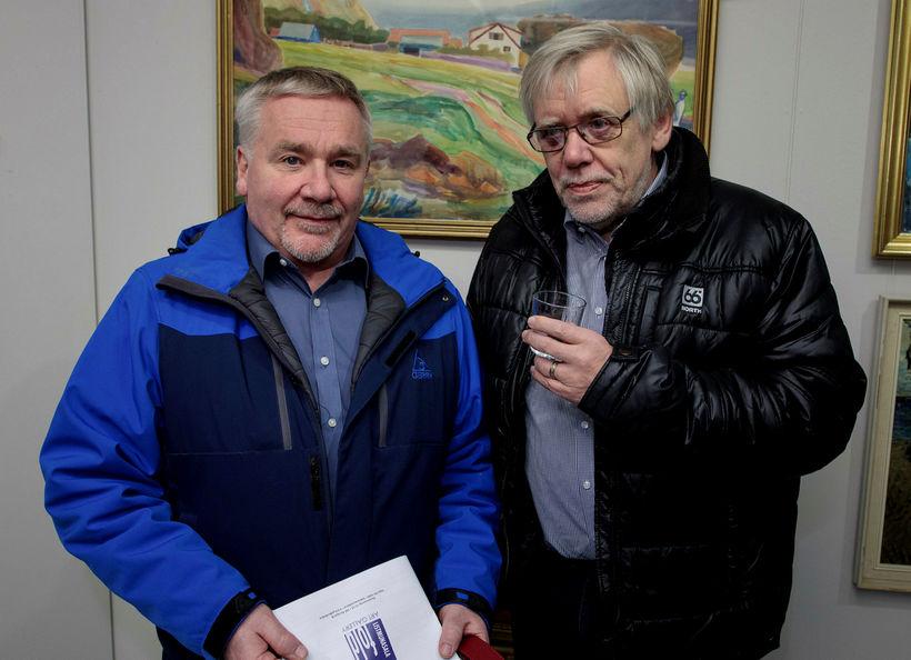 Ólafur Þorsteinsson og Pétur Guðmundarson.