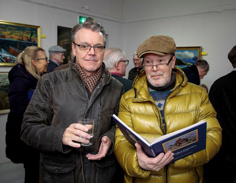 Kristján Pétur Guðnason og Aðalsteinn Ingólfsson.