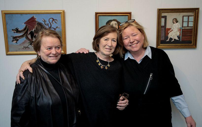 Arndís Erla Pétursdótir, Sigríður Svana Pétursdóttir og Katrín Pétursdóttir.