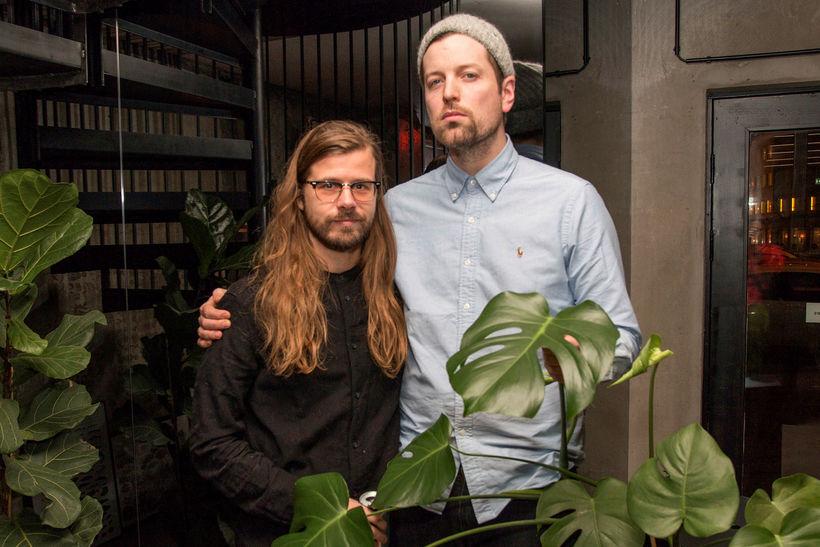 Óskar Þór Arngrímsson og Emil Ásgrímsson.