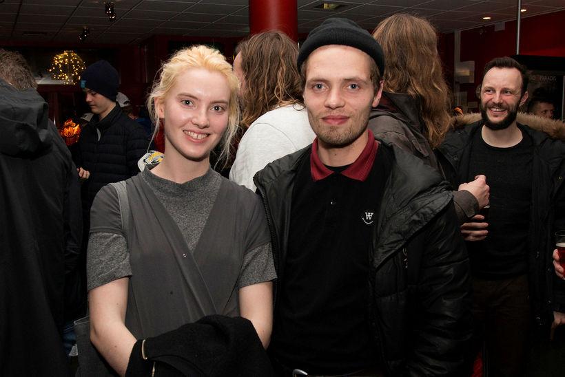 Unnur Björgvinsdóttir og Óðinn Hammer.