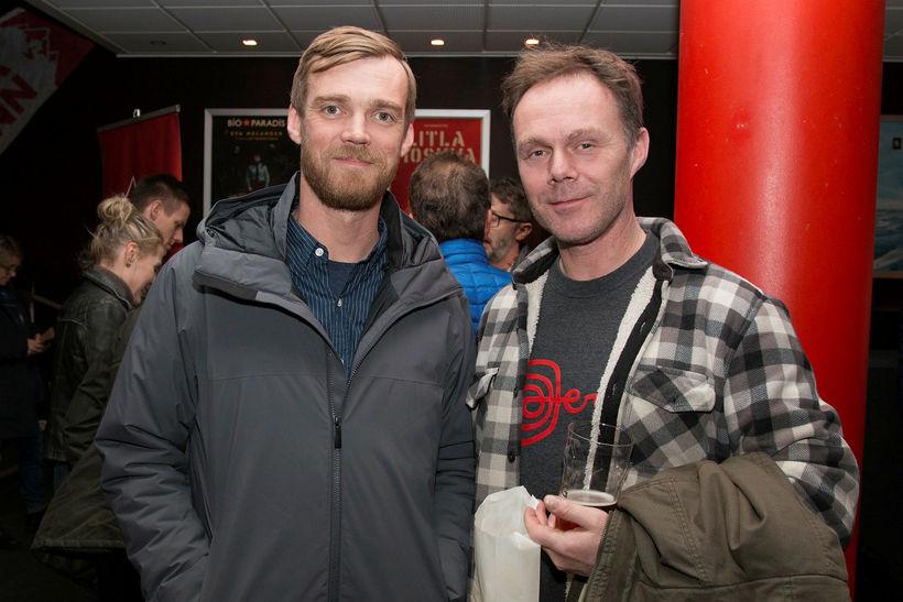 Jón Heiðar Andrésson og Baddi Bjarna.