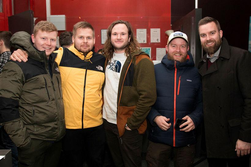 Sigurgeir Haldórsson, Aron Andrew, Pétur Stefánsson, Óðinn Guðmundsson og Snorri ...