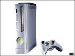 Xbox 360 leikjatölvan frá Microsoft.