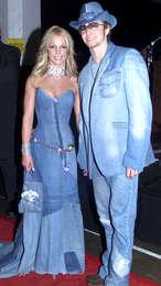 Britney Spears og Justin Timberlake voru par á tímabili.