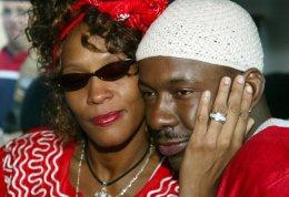 Whitney Houston og Bobby Brown,