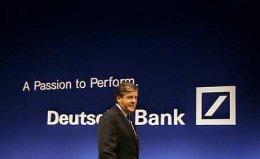 Josef Ackermann, forstjóri Deutsche Bank.
