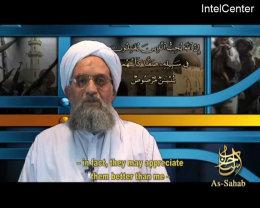Al-Zawahiri á nýlegu myndbandi.