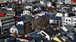 Frá miðborg Reykjavíkur