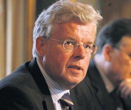 Einar K. Guðfinnsson sjávarútvegs- og landbúnaðarráðherra.