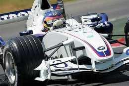 Villeneuve ekur BMW-bílnum ei meir.