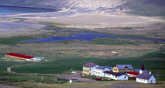 Breiðavík við Patreksfjörð.