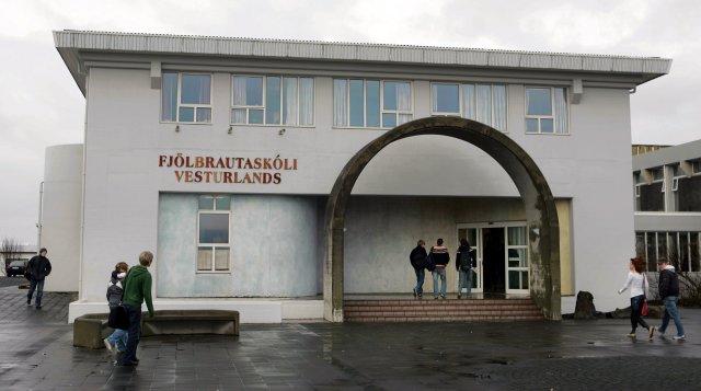 Fjölbrautaskóli Vesturlands á Akranesi.