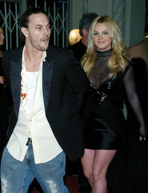 Kevin Federline og Britney Spears eiga saman tvo syni.