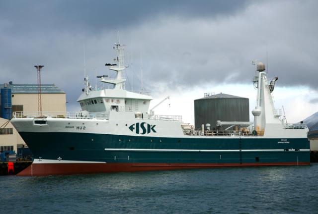 Örvar HU-2 er gerður út frá Reykjavík.