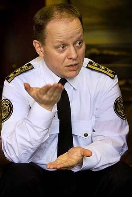 Stefán Eiríksson.
